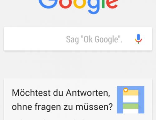Google Search App – weitere Verbesserungen der Spracherkennung und Funktionalität